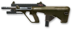 AUG A3 9mm XS Render