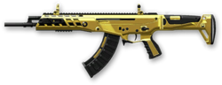 AK Alpha Gold Render