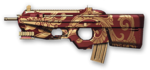FN F2000 Scarlet Dragon Render