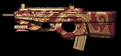 FN F2000 Scarlet Dragon Render