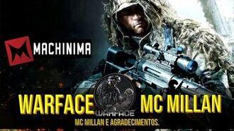 Warface - Jogando de sniper McMillan.