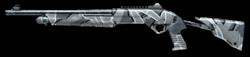 Benelli Nova Tactical Winter Camo Render