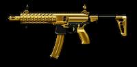 SIG MPX SBR Custom Gold Render