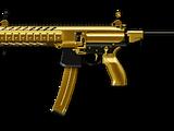 SIG MPX SBR Custom Gold