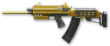 Золотая Сайга-12С Render