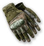 Melee Hit Gloves Render
