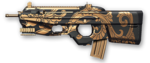 FN F2000 Black Dragon Render