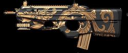 FN F2000 Black Dragon Render