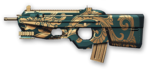 FN F2000 Jade Dragon Render