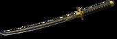 Katana Gold Render
