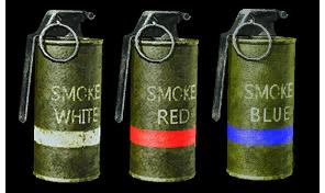 Дымовая граната М18 Render