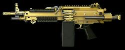 M249 Para Gold Render