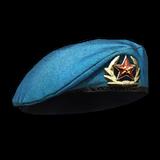 Blue Beret Render