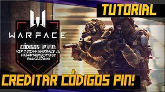 Como creditar códigos PIN no WARFACE.