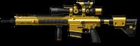 H&K G28 Gold Render