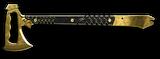 Gerber Tomahawk Gold Render
