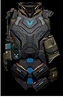 Spectrum Gamma Sniper Vest Render