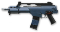 Navy Blue H&K G36C