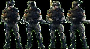 Squad Night Tiger Skin