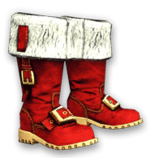 Christmas Boots Render