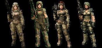 Squad Aurora Skin