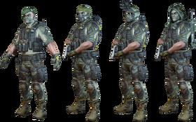 Ghost Squad Skin