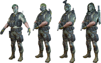 Ghost Squad Skin