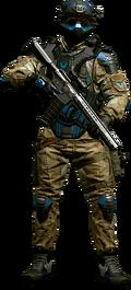 Rifleman Class Character