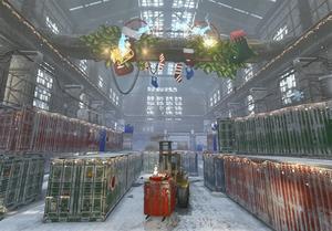 Xmas Hangar Map
