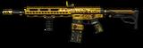 Howa Type 89 Custom Gold Render