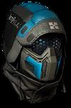Spectrum Gamma Sniper Helmet Render