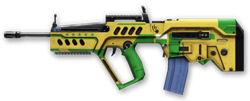 Tavor TAR-21 Brazilian World Cup Render