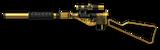 Sten MK IIS Gold Render