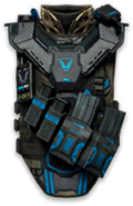 Spectrum Gamma Rifleman Vest Render