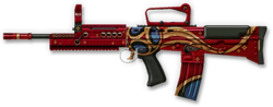 Enfield L85A2 Custom World Cup 2018 Render