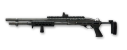 Remington 870 RAS Render