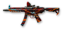 H&K MP5A5 Custom Anniversary Skin
