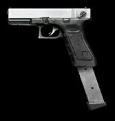 Glock 18C Platinum Render