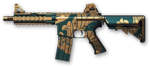 M4 CQB Jade Dragon Render