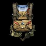 Parachute D-6 Render