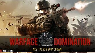 Warface - Jogando com a AK9 Domination.