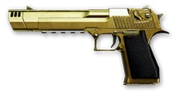 Desert Eagle Gold Render
