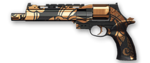 Mateba Autorevolver Black Dragon Render