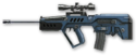 Tavor STAR-21 Navy Blue Render