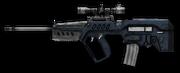 Tavor STAR-21 Navy Blue Render