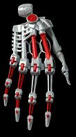 Chromium Hands Module Render