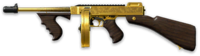 Thompson M1928 Gold Render
