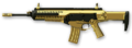 Золотая Beretta ARX160 Render
