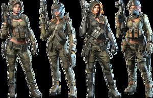 Squad Black Widow Skin