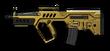 Золотой Tavor CTAR-21 Render